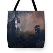 The Castle In The Moonlight  Tote Bag