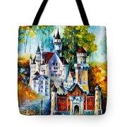 The Castle Of 4 Seasons Tote Bag