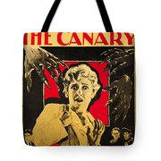 The Cat And The Canary Tote Bag
