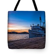 The Cat Tote Bag by Davorin Mance