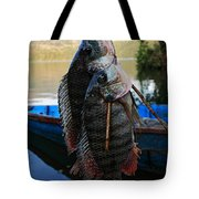 The Catch - Begnas Lake - Nepal Tote Bag