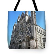 The Cathedral At Orvieto Tote Bag