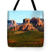 The Cathedral Complex Tote Bag