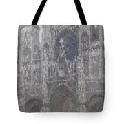 The Cathedral In Rouen Tote Bag