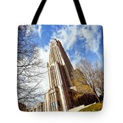 The Cathedral Of Learning 1 Tote Bag