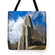 The Cathedral Of Learning 2g Tote Bag