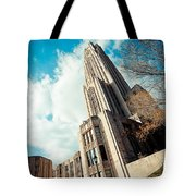 The Cathedral Of Learning 3 Tote Bag
