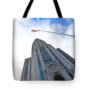 The Cathedral Of Learning 4 Tote Bag