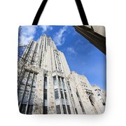 The Cathedral Of Learning 5 Tote Bag