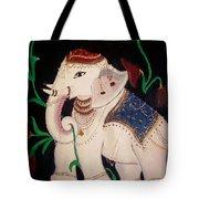 The Celestial Elephant Tote Bag