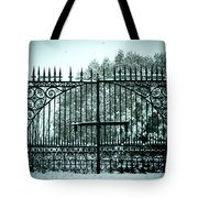The Cemetery Gates Tote Bag