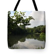The Central Park Pond Tote Bag