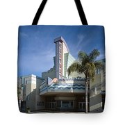 The Century Theatre In Ventura Tote Bag
