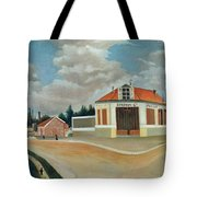 The Chair Factory At Alfortville Tote Bag