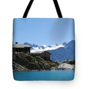 The Chalet At Lac Blanc Tote Bag