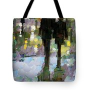 The Champs Elyseee After The Rain Tote Bag