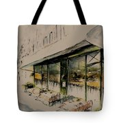 The Champs Elysees Tote Bag