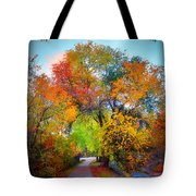 The Changing Tree Tote Bag
