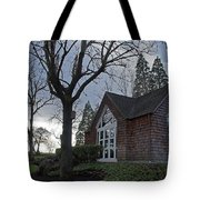 The Chapel At Eagle Point National Cemetery Tote Bag