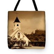 The Chapel At The Supes  Tote Bag