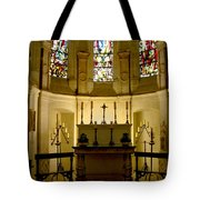 The Chapel In Chenonceau Castle Tote Bag