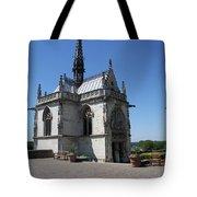 The Chapel Of Saint-hubert Amboise Tote Bag