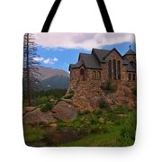 The Chapel On The Rock Tote Bag