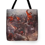 The Charge Of Drury Lowes Cavalry Tote Bag
