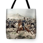 The Charge Of The Light Brigade, 1895 Tote Bag