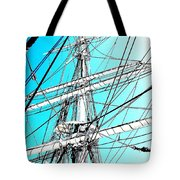 The Charles W Morgan Tote Bag