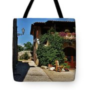 The Charming Patio Tote Bag