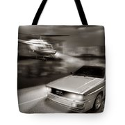The Chase 3 Tote Bag