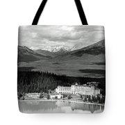 The Chateau Lake Louise Tote Bag