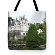 The Chateau's Towers View Tote Bag