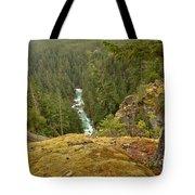 The Cheakamus River Gorge Tote Bag