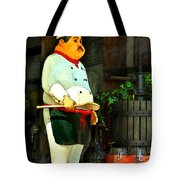 The Chef In The Window Tote Bag