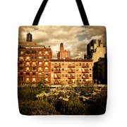 The Chelsea Skyline - High Line Park - New York City Tote Bag