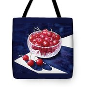 The Cherry Bowl Tote Bag