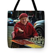 The Chess King Jude Acers Of The French Quarter Tote Bag
