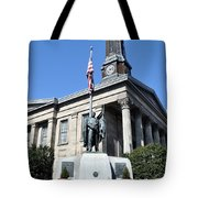 The Chester County Courthouse In West Chester Pa Tote Bag
