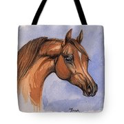 The Chestnut Arabian Horse 1 Tote Bag