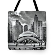 The Chicago Bean II Tote Bag