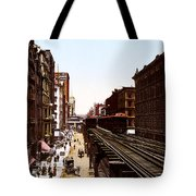 The Chicago El Tote Bag