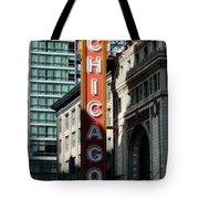 The Chicago Theatre Tote Bag