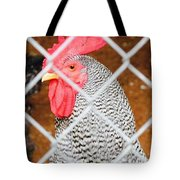 The Chicken Fence Tote Bag