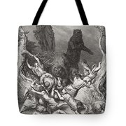 The Children Destroyed By Bears Tote Bag
