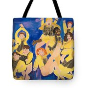The Chorus Line Tote Bag by Don Larison
