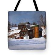 The Christmas Barn Tote Bag