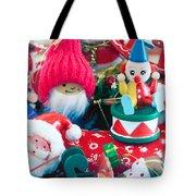 The Christmas Clown II Tote Bag