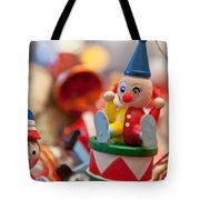 The Christmas Clown  Tote Bag